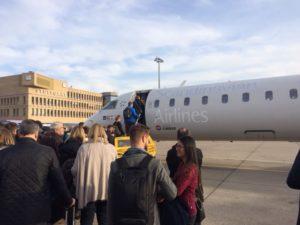Das kleine SAS-Maschinchen in Stuttgart.