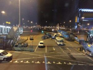Der letzte Flieger in Amsterdam